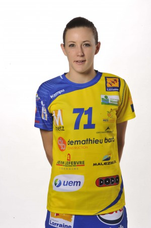 Kristina Liscevic, internationale serbe, Metz Handball