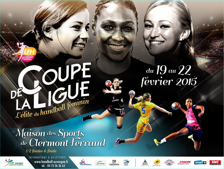 Coupe de la ligue la billetterie est ouverte ligue f minine de handball - Billetterie coupe de la ligue 2015 ...