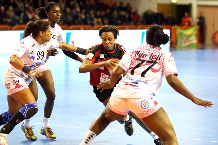 Allison Pineau Nîmes LFH