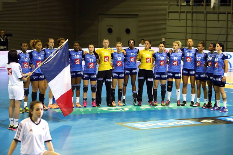 Bleues Qualification Mondial 2015
