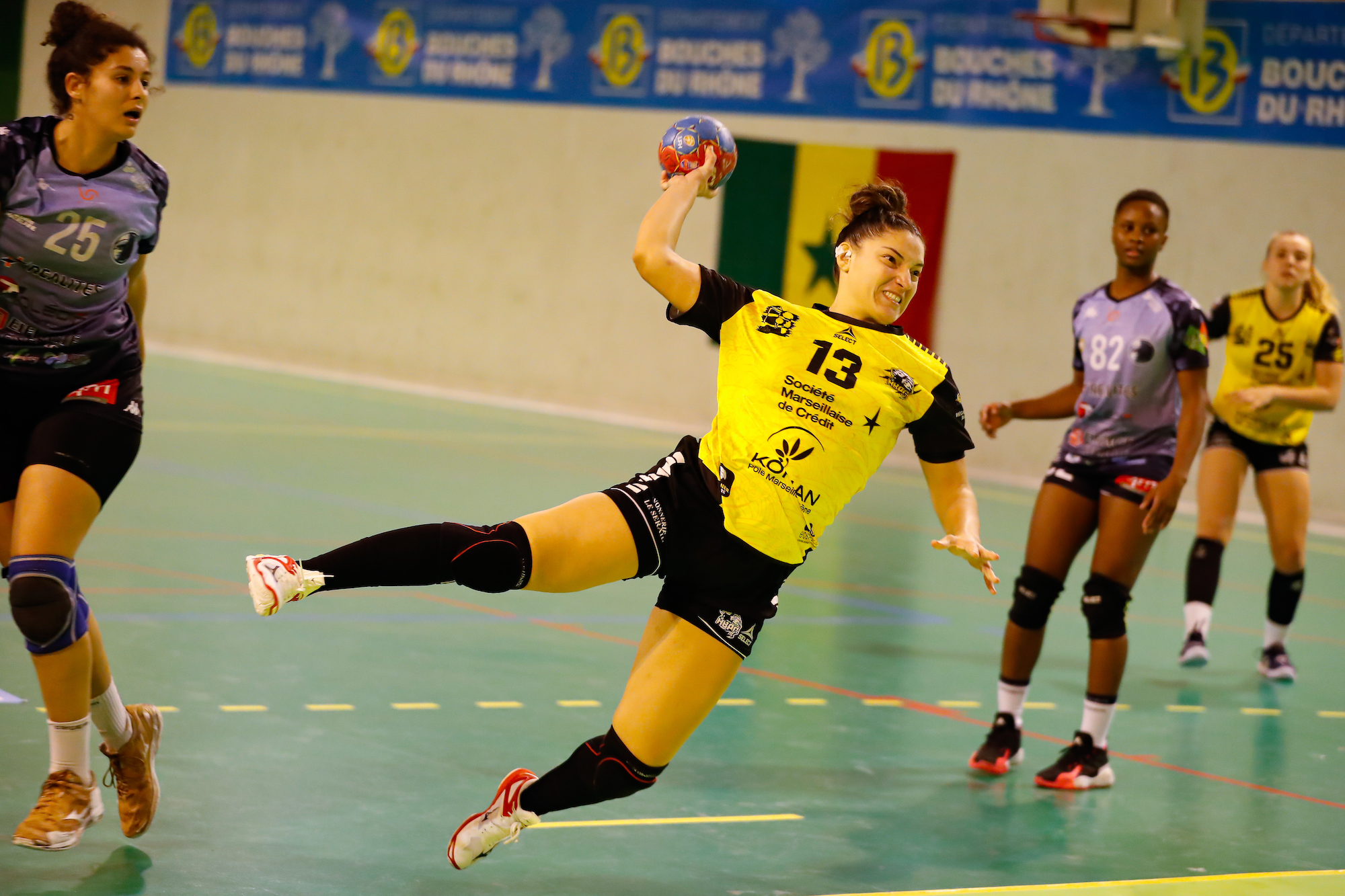 HANDBALL : HBPC Plan de Cuques Vs Chambray Touraine Handball - Femina Hand Cup - 19/12/2020