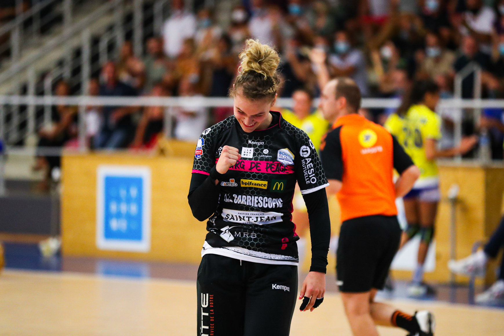 Camille DEPUISET of Brest during the Ligue Butaguaz Energie match between Bourg de Peage and Brest on September 8, 2021 in Bourg-de-Peage, France. (Photo by Bertrand Delhomme/Icon Sport) -  (France)
